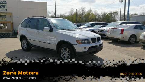 2006 BMW X5 for sale at Zora Motors in Houston TX