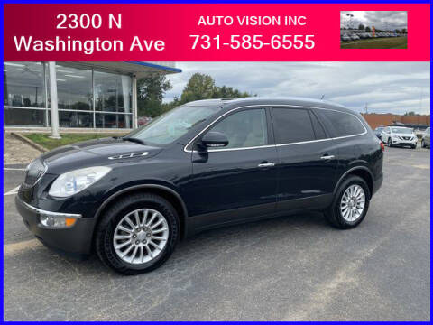 2012 Buick Enclave for sale at Auto Vision Inc. in Brownsville TN