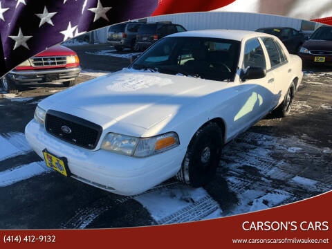 2011 Ford Crown Victoria for sale at Carson's Cars in Milwaukee WI