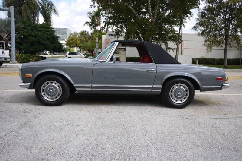 1969 Mercedes-Benz 280-Class for sale at PERFORMANCE AUTO WHOLESALERS in Miami FL