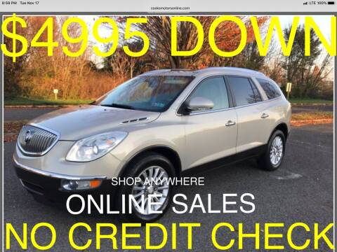 2012 Buick Enclave for sale at Cooks Motors in Westampton NJ