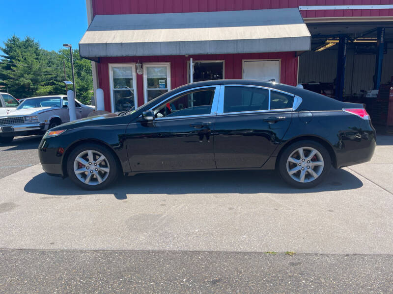 2012 Acura TL for sale at JWP Auto Sales,LLC in Maple Shade NJ