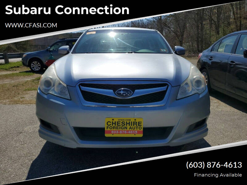 2012 Subaru Legacy for sale at Subaru Connection in Marlborough NH