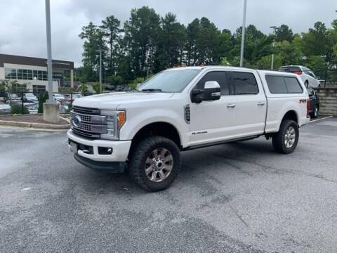 2017 Ford F-250 Super Duty for sale at CU Carfinders in Norcross GA