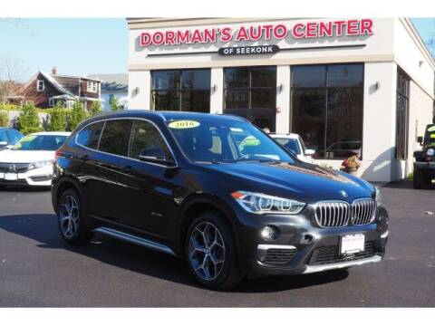 2016 BMW X1 for sale at DORMANS AUTO CENTER OF SEEKONK in Seekonk MA