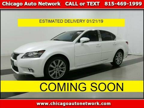 2015 Lexus GS 350 for sale at Chicago Auto Network in Mokena IL
