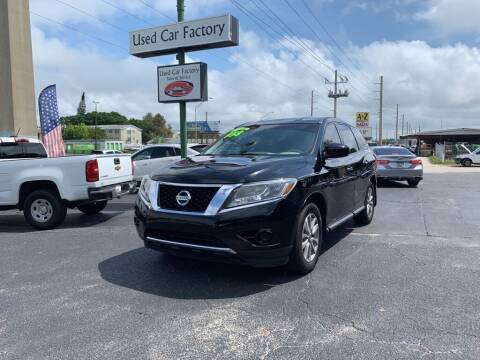 2014 Nissan Pathfinder for sale at Used Car Factory Sales & Service in Bradenton FL
