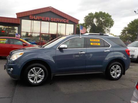 2011 Chevrolet Equinox for sale at Super Service Used Cars in Milwaukee WI