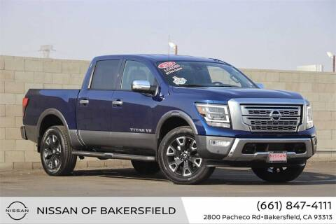 2020 Nissan Titan for sale at Nissan of Bakersfield in Bakersfield CA