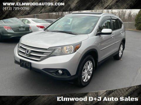 2014 Honda CR-V for sale at Elmwood D+J Auto Sales in Agawam MA