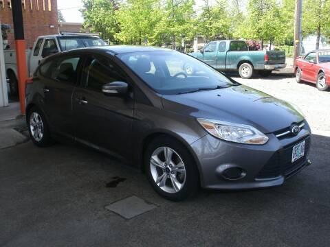 2014 Ford Focus for sale at D & M Auto Sales in Corvallis OR