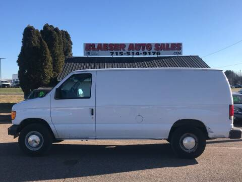 2007 Ford E-Series Cargo for sale at BLAESER AUTO LLC in Chippewa Falls WI