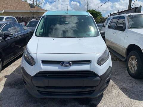 2015 Ford Transit Connect Cargo for sale at America Auto Wholesale Inc in Miami FL
