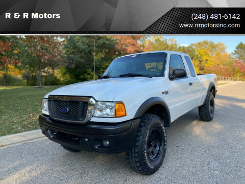 2004 Ford Ranger for sale at R & R Motors in Waterford MI