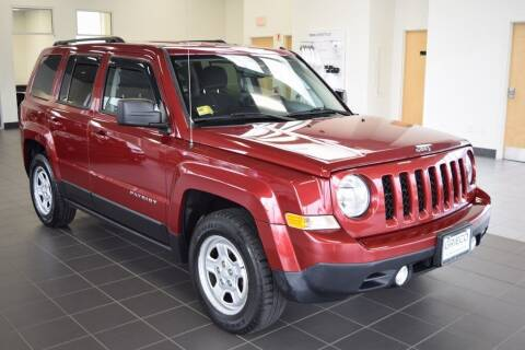 2016 Jeep Patriot for sale at BMW OF NEWPORT in Middletown RI