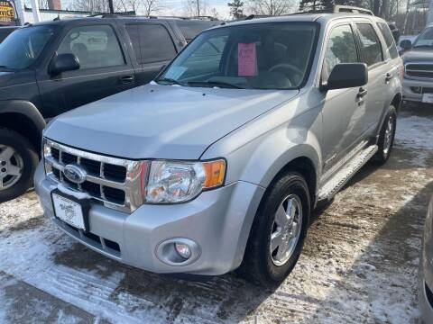 2008 Ford Escape for sale at Nelson's Straightline Auto - 23923 Burrows Rd in Independence WI