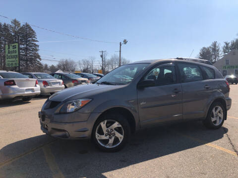 2004 Pontiac Vibe for sale at J's Auto Exchange in Derry NH