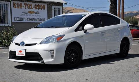 2015 Toyota Prius for sale at AMC Auto Sales, Inc. in Fremont CA