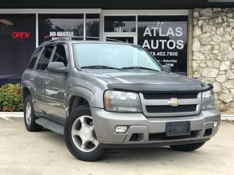 2008 Chevrolet TrailBlazer for sale at ATLAS AUTOS in Marietta GA
