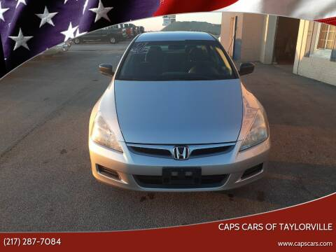 2007 Honda Accord for sale at Caps Cars Of Taylorville in Taylorville IL