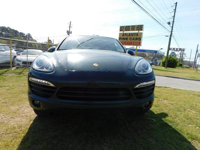 2011 Porsche Cayenne for sale at Atlanta Fine Cars in Jonesboro GA