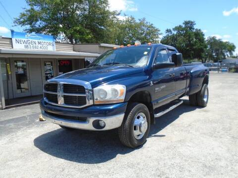 2006 Dodge Ram Pickup 3500 for sale at New Gen Motors in Bartow FL