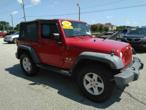 2008 Jeep Wrangler for sale at Kelly & Kelly Supermarket of Cars in Fayetteville NC