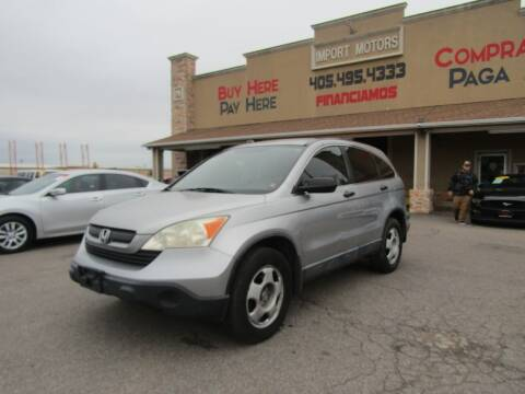 2007 Honda CR-V for sale at Import Motors in Bethany OK