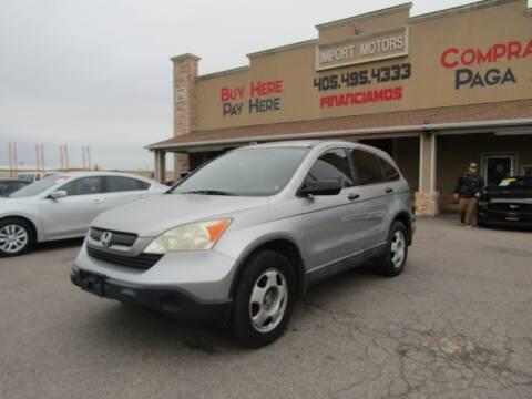 2007 Honda CR-V for sale at Import Motors in Bethany OK