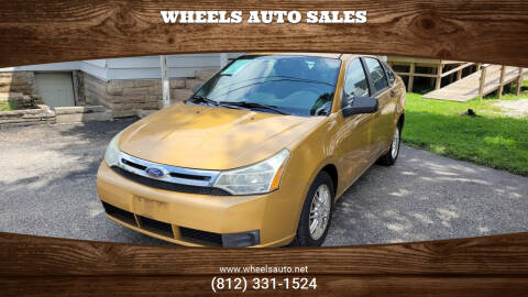 2009 Ford Focus for sale at Wheels Auto Sales in Bloomington IN