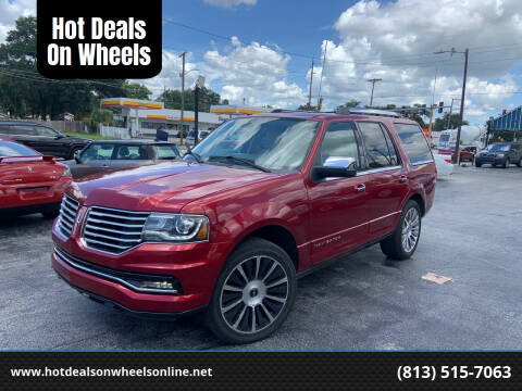 2015 Lincoln Navigator for sale at Hot Deals On Wheels in Tampa FL