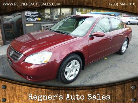 2002 Nissan Altima for sale at Regner's Auto Sales in Danbury CT