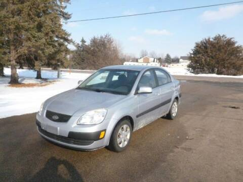 2006 Kia Rio for sale at HUDSON AUTO MART LLC in Hudson WI