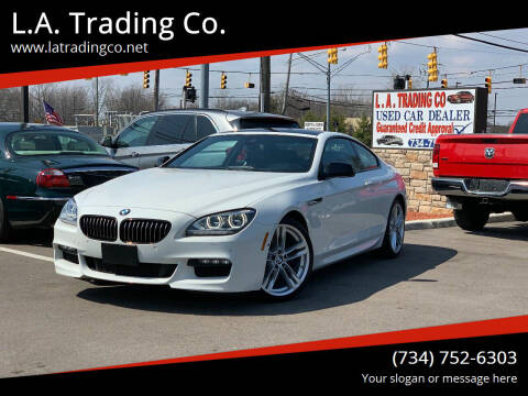 2014 BMW 6 Series for sale at L.A. Trading Co. Woodhaven in Woodhaven MI