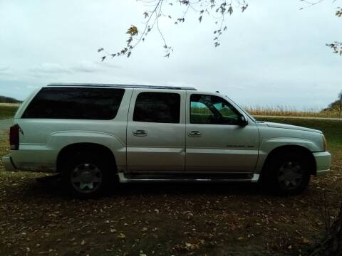 2004 Cadillac Escalade ESV for sale at Southtown Auto Sales in Albert Lea MN