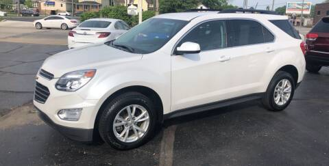 2017 Chevrolet Equinox for sale at N & J Auto Sales in Warsaw IN