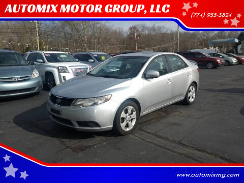 2010 Kia Forte for sale at AUTOMIX MOTOR GROUP, LLC in Swansea MA