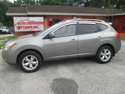 2008 Nissan Rogue for sale at Auto Liquidators of Tampa in Tampa FL