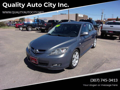 2007 Mazda MAZDA3 for sale at Quality Auto City Inc. in Laramie WY