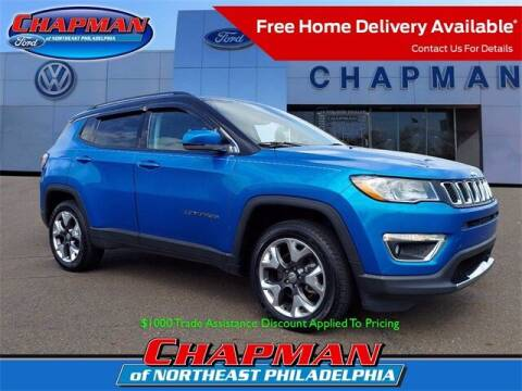 2019 Jeep Compass for sale at CHAPMAN FORD NORTHEAST PHILADELPHIA in Philadelphia PA