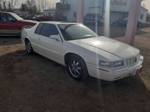 1998 Cadillac Eldorado for sale at Ron Lowman Motors Minot in Minot ND