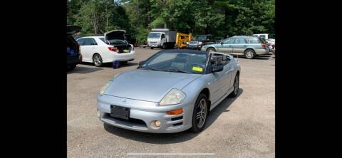 2003 Mitsubishi Eclipse Spyder for sale at QUALITY AUTOS in Newfoundland NJ