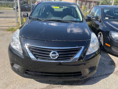 2014 Nissan Versa for sale at Philadelphia Public Auto Auction in Philadelphia PA
