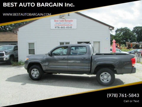 2016 Toyota Tacoma for sale at BEST AUTO BARGAIN inc. in Lowell MA