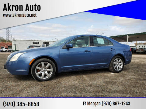 2010 Mercury Milan for sale at Akron Auto in Akron CO