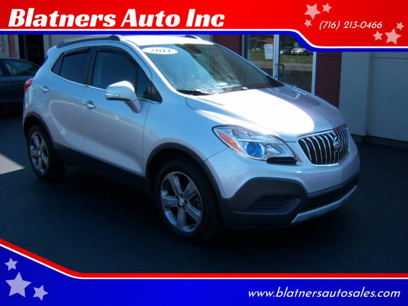 2014 Buick Encore for sale at Blatners Auto Inc in North Tonawanda NY