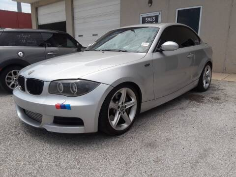2009 BMW 1 Series for sale at RICKY'S AUTOPLEX in San Antonio TX