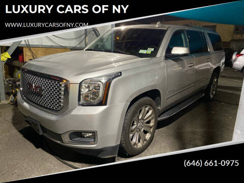 2017 GMC Yukon XL for sale at LUXURY CARS OF NY in Queens NY