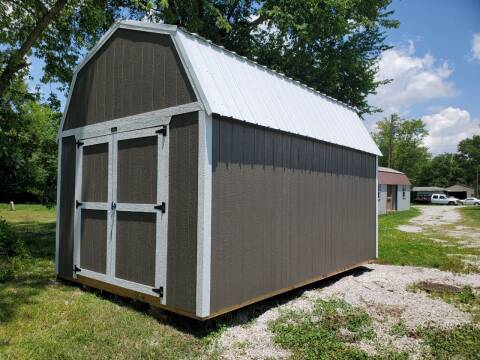 2021 Premier  10x16 Lofted Barn for sale at Executive Motor Sports LLC in Sparta MO