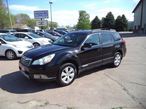 2012 Subaru Outback for sale at Budget Motors - Budget Acceptance in Sioux City IA